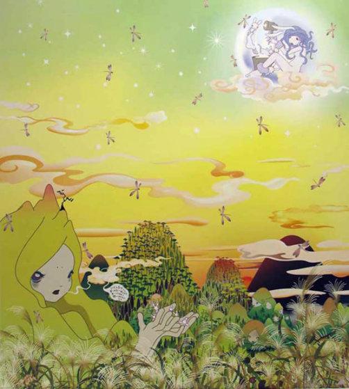 Yuyake Chan Miss Sunset 2006 Limited Edition Print by Chiho Aoshima