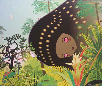 Chameleon, From Building Head 2008 Limited Edition Print by Chiho Aoshima
