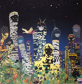 City Glow 2005 Limited Edition Print - Chiho Aoshima