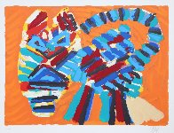 Sunshine Cat From the Cats Portfolio 1978 Limited Edition Print by Karel Appel - 1