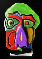 Head Ceramic  Sculpture 21 in Sculpture by Karel Appel - 0