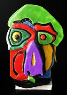 Head Ceramic  Sculpture 21 in Sculpture - Karel Appel