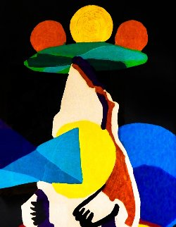 Le Jongleur Prophetique 1978 Limited Edition Print - Karel Appel