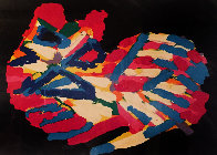 Sleeping Cat 1978 Limited Edition Print by Karel Appel - 0
