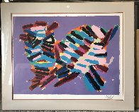 Cat Series: Innocent Cat 1978 Limited Edition Print by Karel Appel - 1