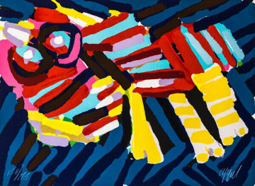 Head Like an Animal 1978 Limited Edition Print - Karel Appel