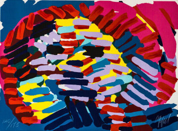 Once I Was the Sun 1978 Limited Edition Print by Karel Appel