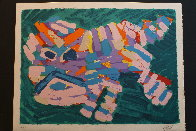 Stalking Cat 1978 Limited Edition Print by Karel Appel - 1