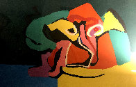 Untitled Lithograph 1971 Limited Edition Print by Karel Appel - 0