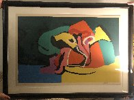 Untitled Lithograph 1971 Limited Edition Print by Karel Appel - 1