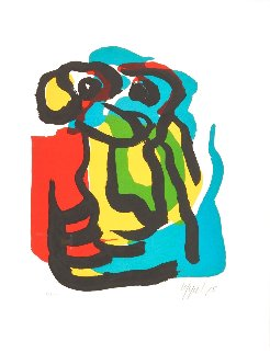 T. V. Blues 1975 Limited Edition Print - Karel Appel