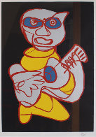 Cool Hand Luke Limited Edition Print by Karel Appel - 0