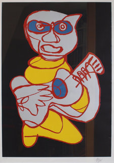 Cool Hand Luke Limited Edition Print - Karel Appel
