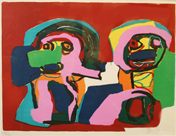 Untitled 1969 Limited Edition Print by Karel Appel