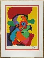 Visage AP Limited Edition Print by Karel Appel - 1
