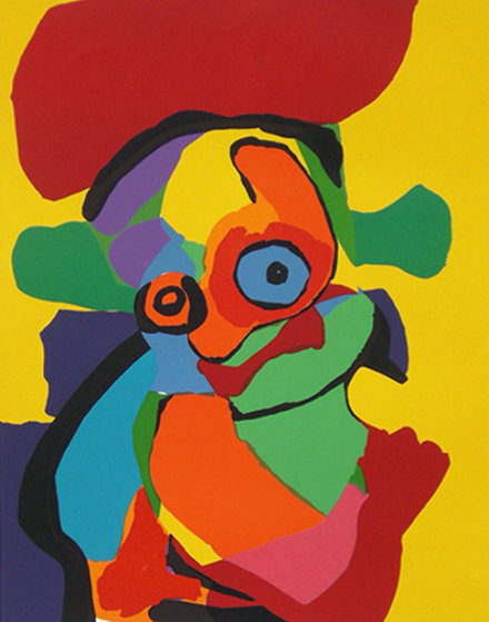Visage AP Limited Edition Print by Karel Appel