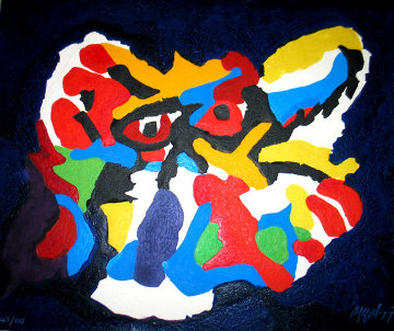 Untitled 1977 Limited Edition Print - Karel Appel