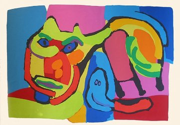 Cat 1969 Limited Edition Print - Karel Appel