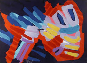 Untitled - Fish 1979 Limited Edition Print - Karel Appel