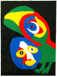 Perroquet Limited Edition Print by Karel Appel