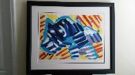 Bull Dog 1980 Limited Edition Print by Karel Appel - 1