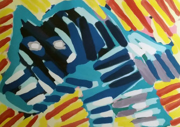 Bull Dog 1980 Limited Edition Print by Karel Appel