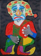 Il Pagliacci (From the Metropolitan Opera II Suite) 1984 Limited Edition Print by Karel Appel - 0