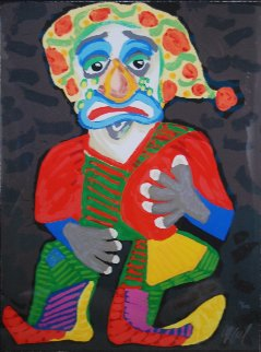 Il Pagliacci (From the Metropolitan Opera II Suite) 1984 Limited Edition Print - Karel Appel