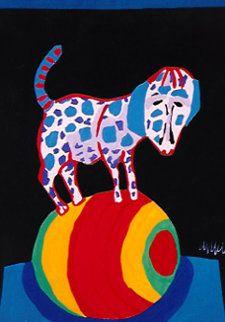 Circus Suite No. 28 1978 Limited Edition Print by Karel Appel