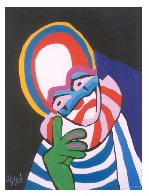 Circus Suite No. 30 1978 Limited Edition Print by Karel Appel - 1