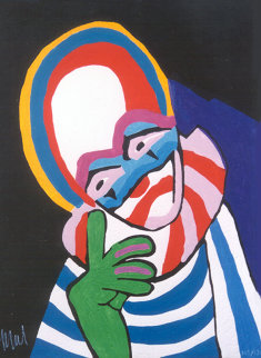 Circus Suite No. 30 1978 Limited Edition Print - Karel Appel