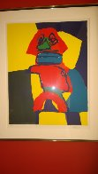 Untitled Lithograph 1969 Limited Edition Print by Karel Appel - 1