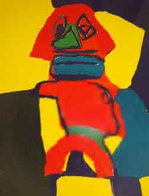 Untitled Lithograph 1969 Limited Edition Print by Karel Appel - 0