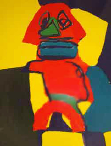 Untitled Lithograph 1969 Limited Edition Print by Karel Appel