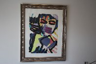 Personage in Blue 1980 Limited Edition Print by Karel Appel - 1
