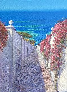 Sicily 22x18 Original Painting - Andrea Razzauti
