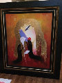 Favorite One 43x48 Original Painting - Arbe Berberyan