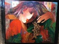 Autumn  31x34 Original Painting by Arbe Berberyan    - 4