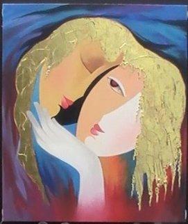 Empathy 24x20 Original Painting - Arbe Berberyan