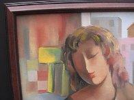 Student 22x18 Original Painting by Arbe Berberyan    - 2
