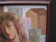 Student 22x18 Original Painting by Arbe Berberyan    - 3