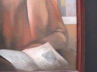 Student 22x18 Original Painting by Arbe Berberyan    - 4