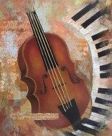 Instruments of Time 26x22 Original Painting by Arbe Berberyan    - 0
