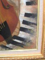 Instruments of Time 26x22 Original Painting by Arbe Berberyan    - 3