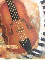 Instruments of Time 26x22 Original Painting by Arbe Berberyan    - 2