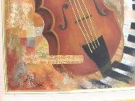 Instruments of Time 26x22 Original Painting by Arbe Berberyan    - 6