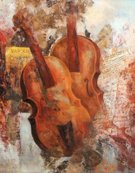 Golden Sonata 2009 Limited Edition Print by Arbe Berberyan