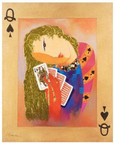 Nordic Queen of Spades 2010 Limited Edition Print by Arbe Berberyan