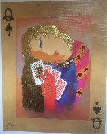 Nordic Queen of Spades 2010 Limited Edition Print by Arbe Berberyan    - 1