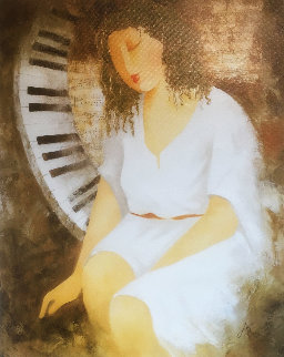 Sonata For Her 2009 Limited Edition Print by Arbe Berberyan